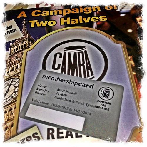 Camra membership
