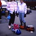 West Germany   -   Vaihingen   -   Patch Barracks   -   Sitzmarkers    -   Jessica & Danita Park getting ready to ski Valfréjus, France    -   30 December 1985 by Ladycliff