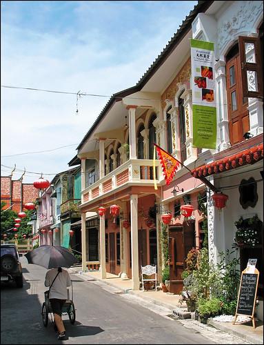 Soi Romanee, old Phuket Town