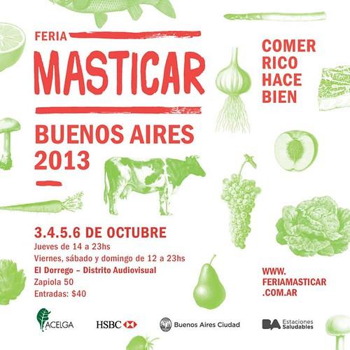 Feria Masticar Buenos Aires 2013