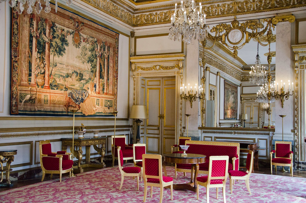 Le Grand Salon du Conseil constitutionnel