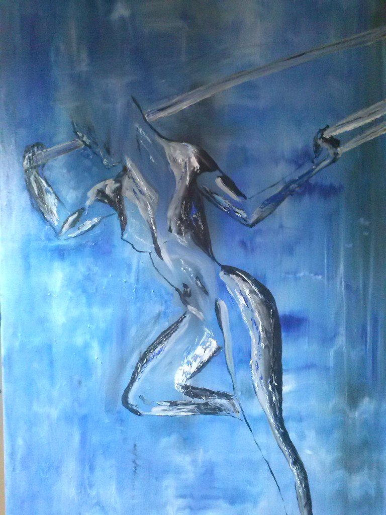 Oil painting 115x75 550 euro