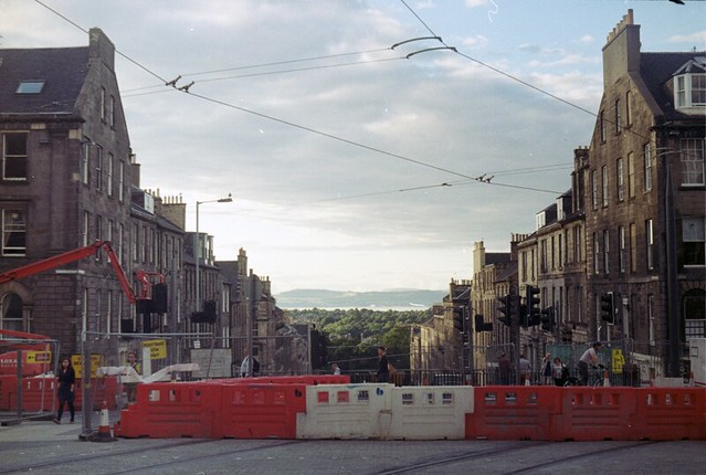 Dublin Street looking North, Edinburgh