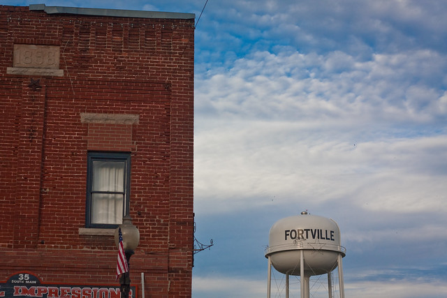Fortville Water Tower