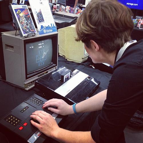 Tempest on an Atari 5200