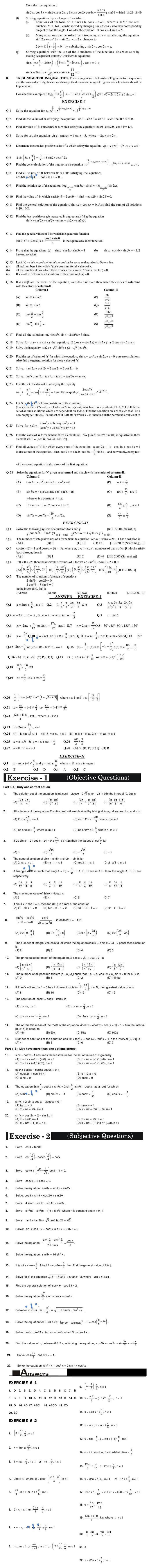 Maths Study Material - Chapter 23