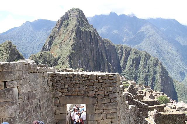 CITADEL AND HUAYNA PICCHU
