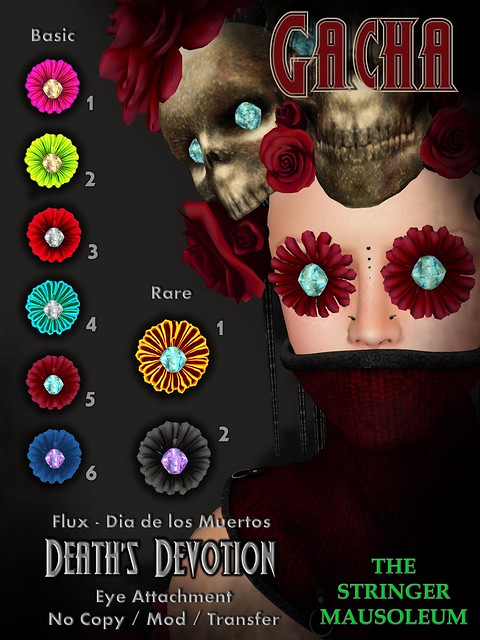 The Stringer Mausoleum - Death's Devotion Eye Gacha