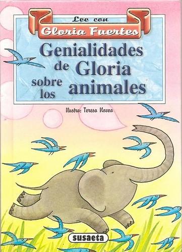 Cubierta de Genialidades de Gloria sobre los animales