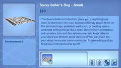 Savvy Seller's Rug - Small