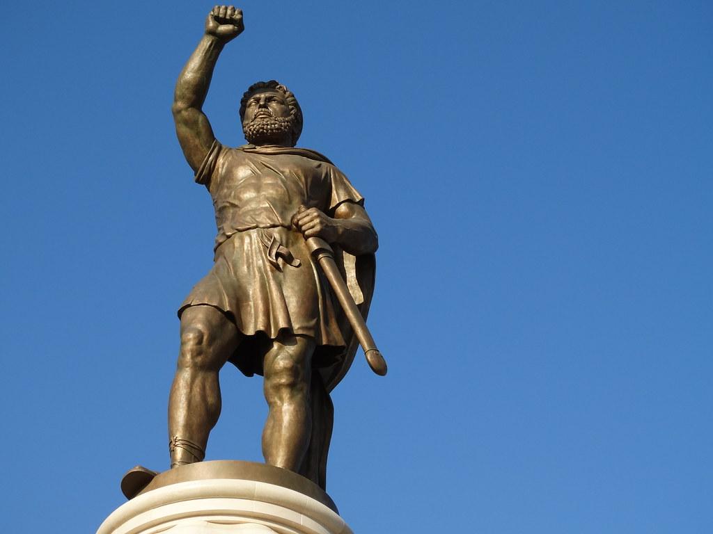Statue of Alexander the Great - Skopje - Macedonia