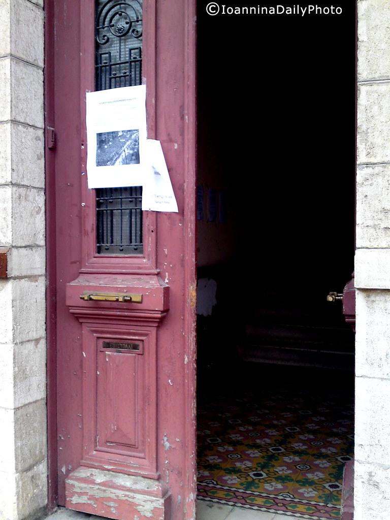 Pink door...