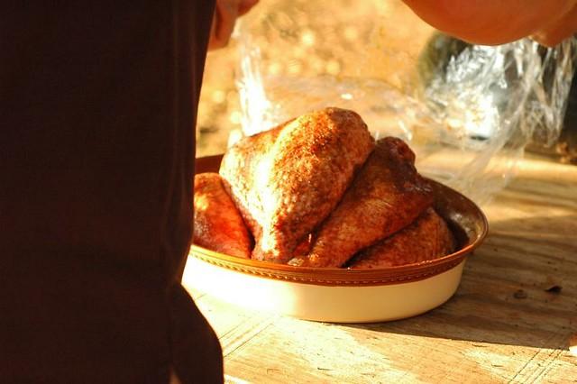 Kevin's Famous BBQ Turkey Leg Recipe