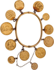 Annie Oakley charm bracelet