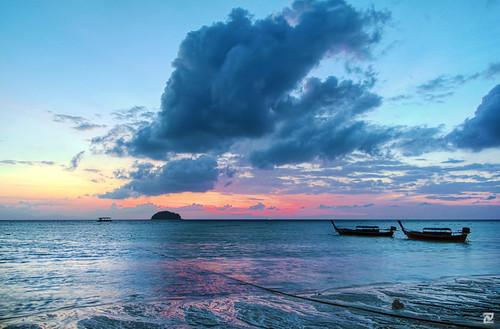sunrise dawn koh hdr lipe