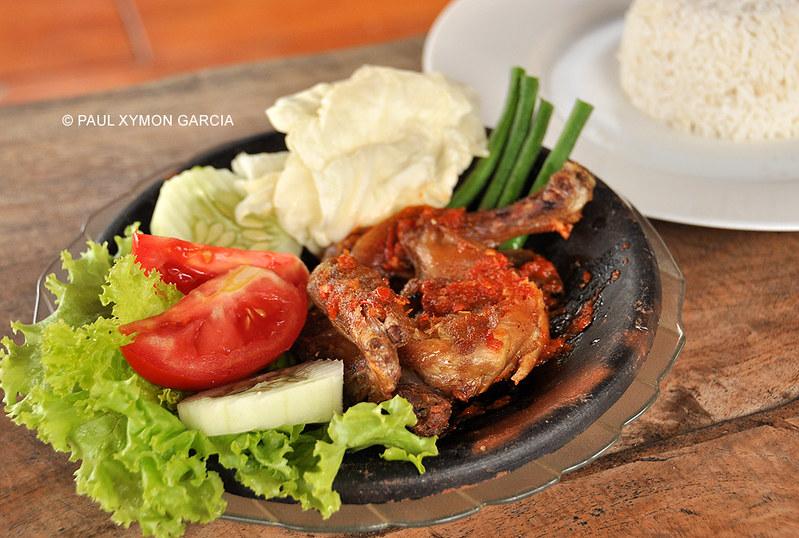 Ayam Lalapan, Malang, East Java, Indonesia