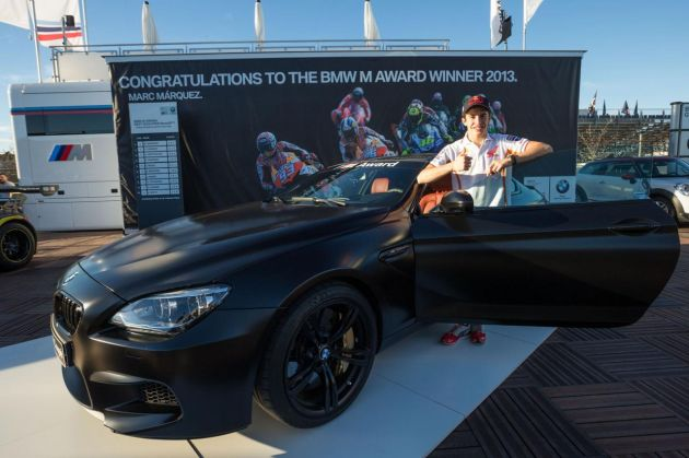 Custom BMW M6 Coupe for MotoGP champ Marc Marquez