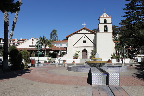 Visit to Mission San Buenaventura (Ventura, California) - Friday November 1, 2013