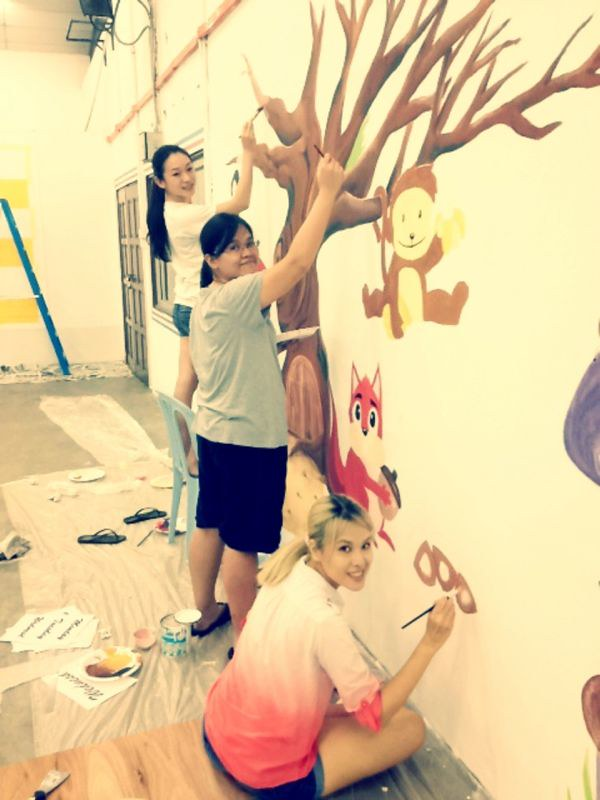 Charity Mural Painting