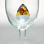 ベルギービール大好き!!【ステーンブルージュ・トリプルの専用グラス】(管理人所有 )