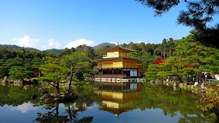 《Golden Pavilion Temple, Japan》