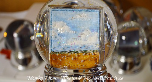 A Very Merry My Sweet Prairie - SNOWGLOBES!  : )