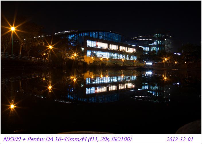 NX300  夜拍小試~