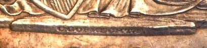 1836 Gobrecht Dollar closeup