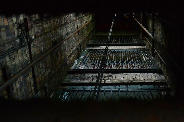 Bristol Mill lift shaft