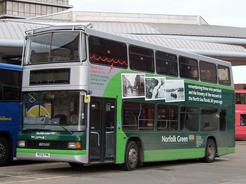 Norfolk Green YE52FHG