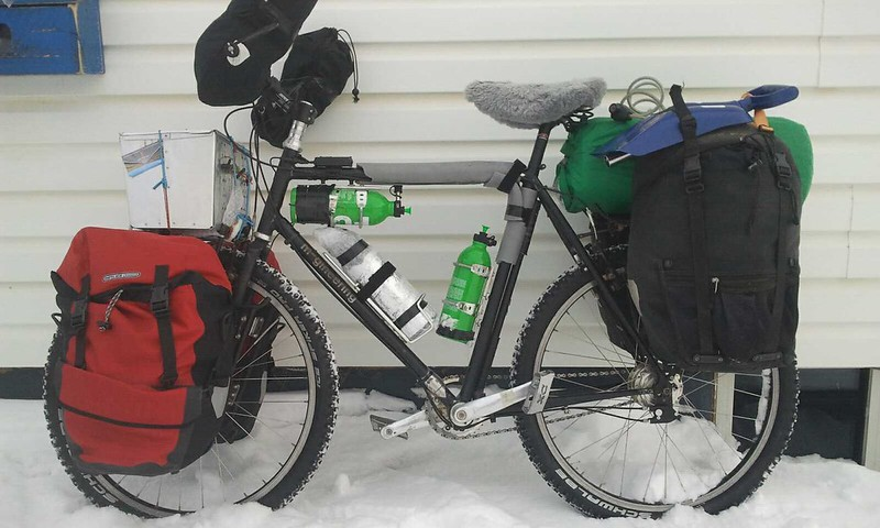 Winter cycling in Canada : pt I