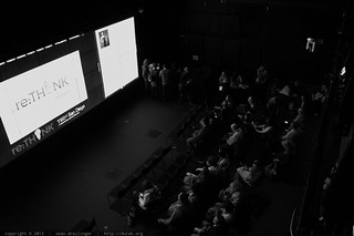 Audience in the Black Box Virtual Room – TEDxSanDiego 2013