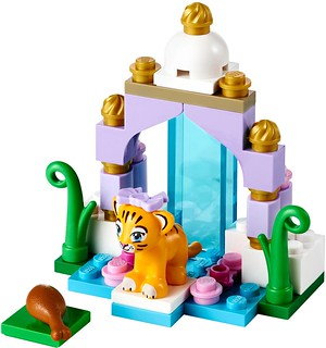 Tiger's Beautiful Temple #41042 the build