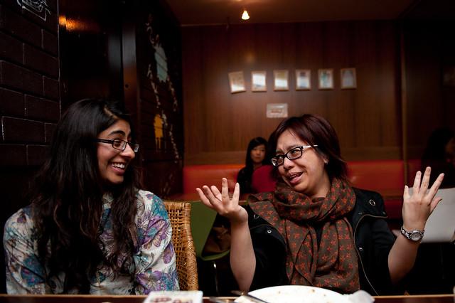 Rajita and Amy