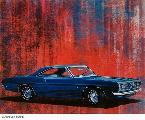 1968 Plymouth Barracuda coupe by Rickster G