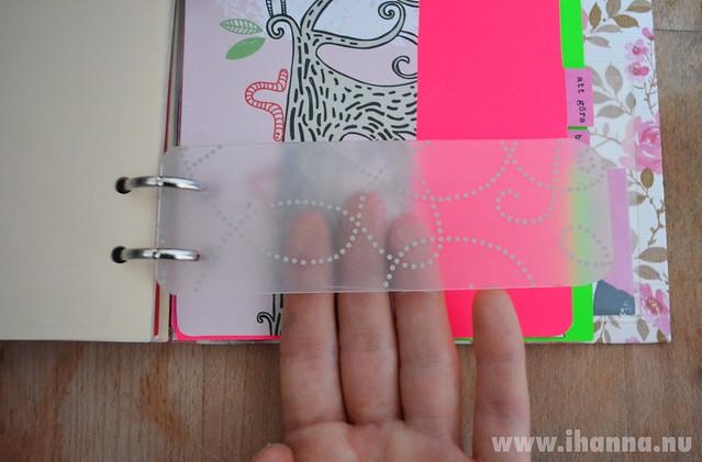Diy Calendar Tabs : Diy calendar idea transparent dividers ihanna s