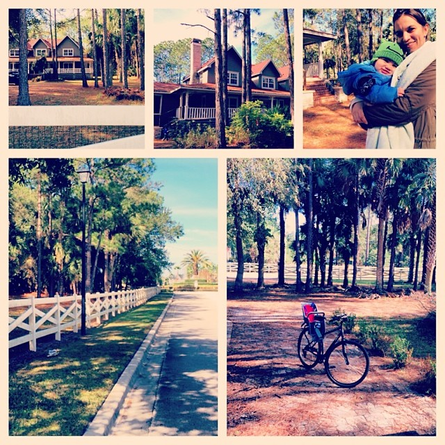 Touring Sanford homes by bicycle - were always up for that :)