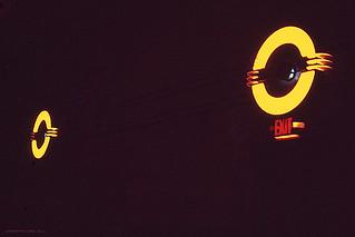Vintage Interior Lights, MAIN Theatre, Ephrata, PA. USA