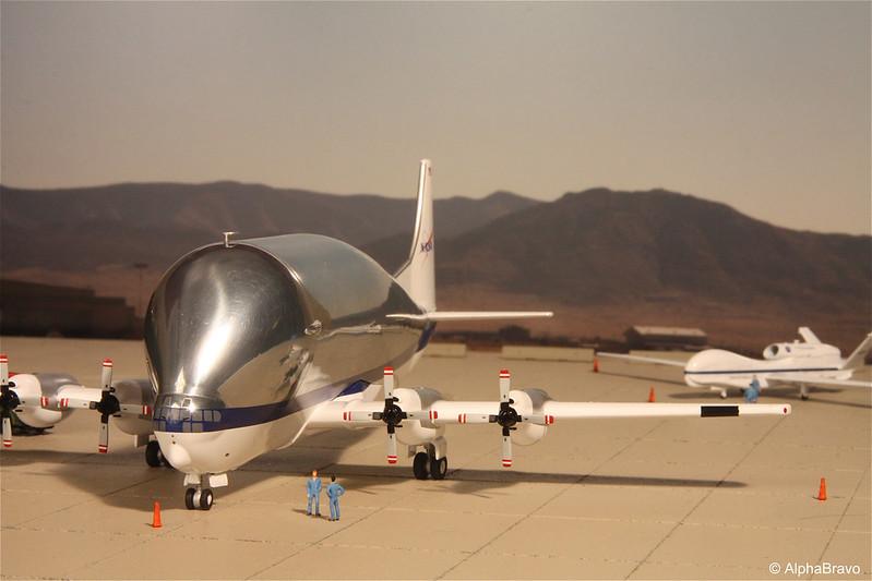 NASA Super Guppy and Global Hawk - DA.C