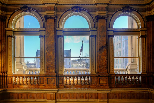 Looking out onto the world - Milwaukee Public Library