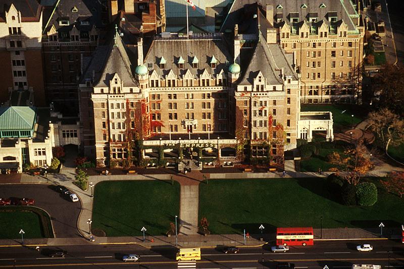 The Empress Hotel, Victoria, Vancouver Island, British Columbia, Canada