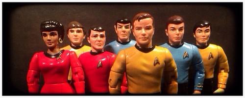 The Crew Of The U.S.S. Enterprise NCC-1701