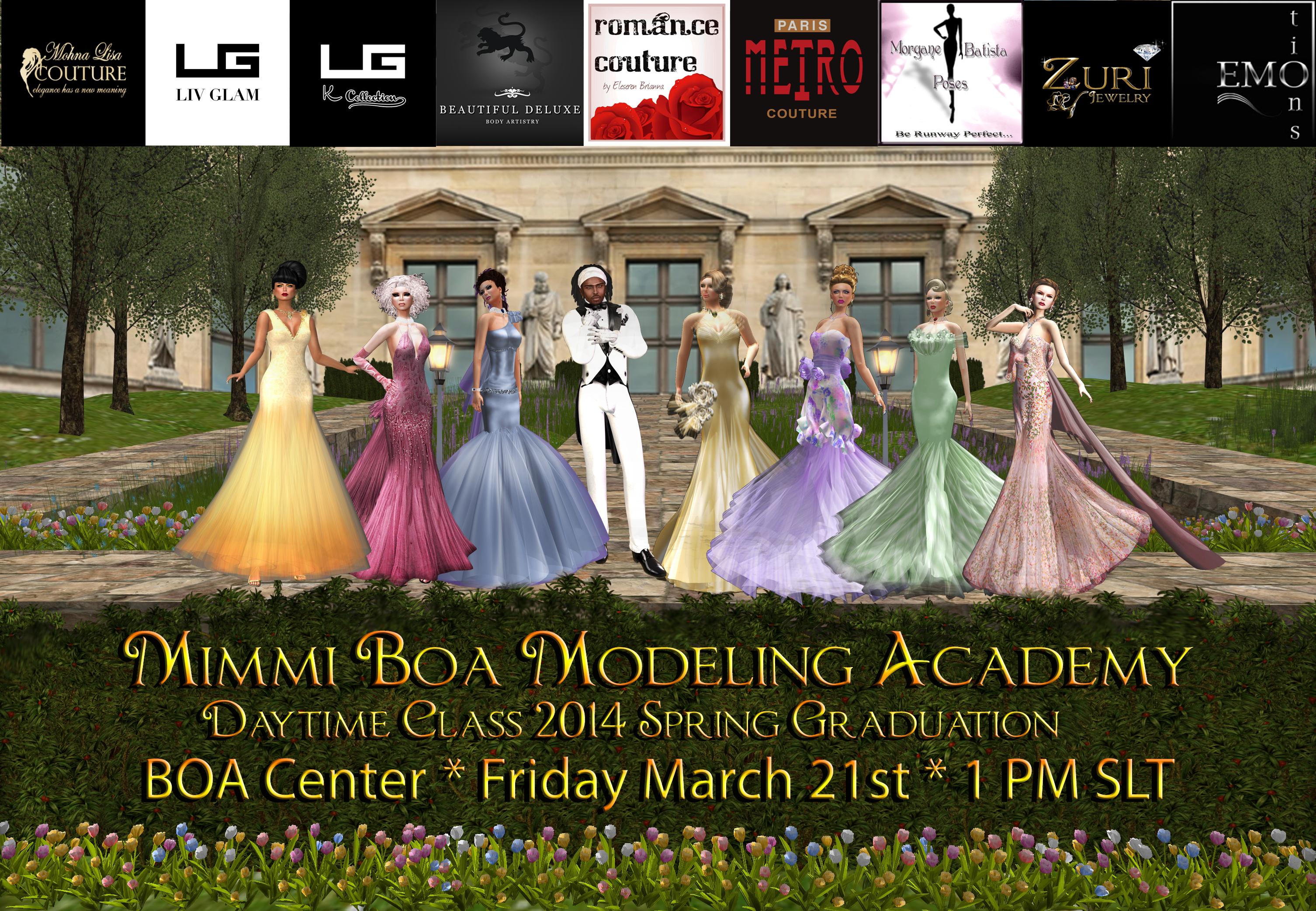 MBMA 2014 Spring Daytime Graduation Show Invitation