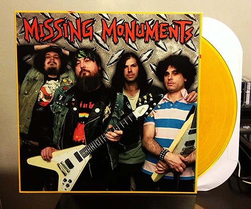 Missing Monuments - S/T LP - Gold Vinyl (/200) by Tim PopKid