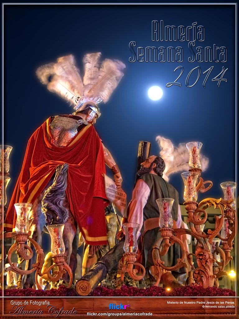 Cartel Semana Santa de Almería, grupo Almería Cofrade