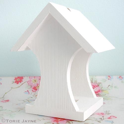 Paint bird house feeder