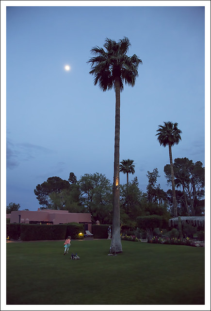 Dusk At The Arizona Inn 1