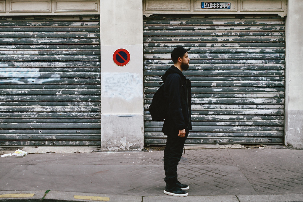 TUUKKA13 - Paris - WDYWT - Kris Van Assche Sneakers, Nicolas Andreas Taralis Jeans and Tank Top, DAMIR DOMA SILENT Hoodie and Backpack, Dior Homme T-Shirt and DAMIR DOMA Cap- (6 of 6)