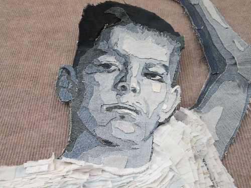 "Detail of ""Ian"" by Jim Arendt"