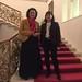 11. Februar 2017: Carola Reimann mit Petra Stucke-Schröder in der Deutschen Parlamentarischen Gesellschaft